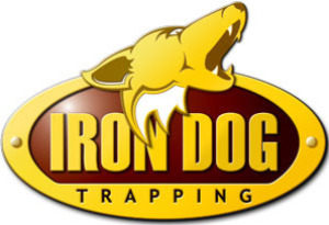 Iron Dog Trapping Logo